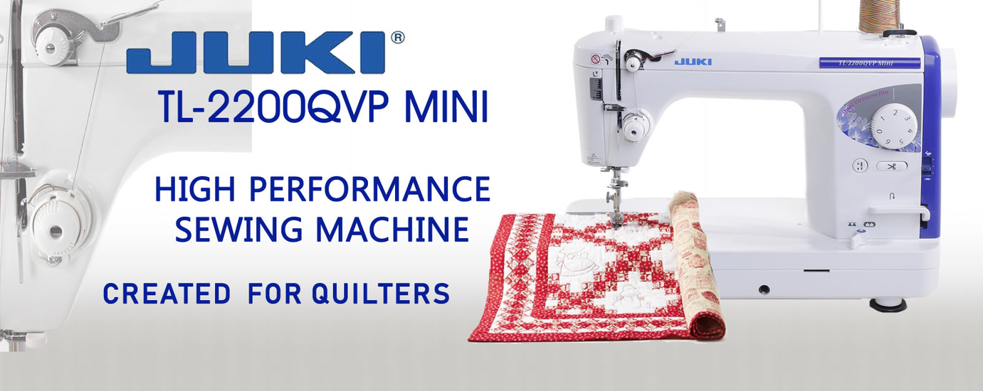 JUKI TL-2200QVP Mini Portable Sewing Machine