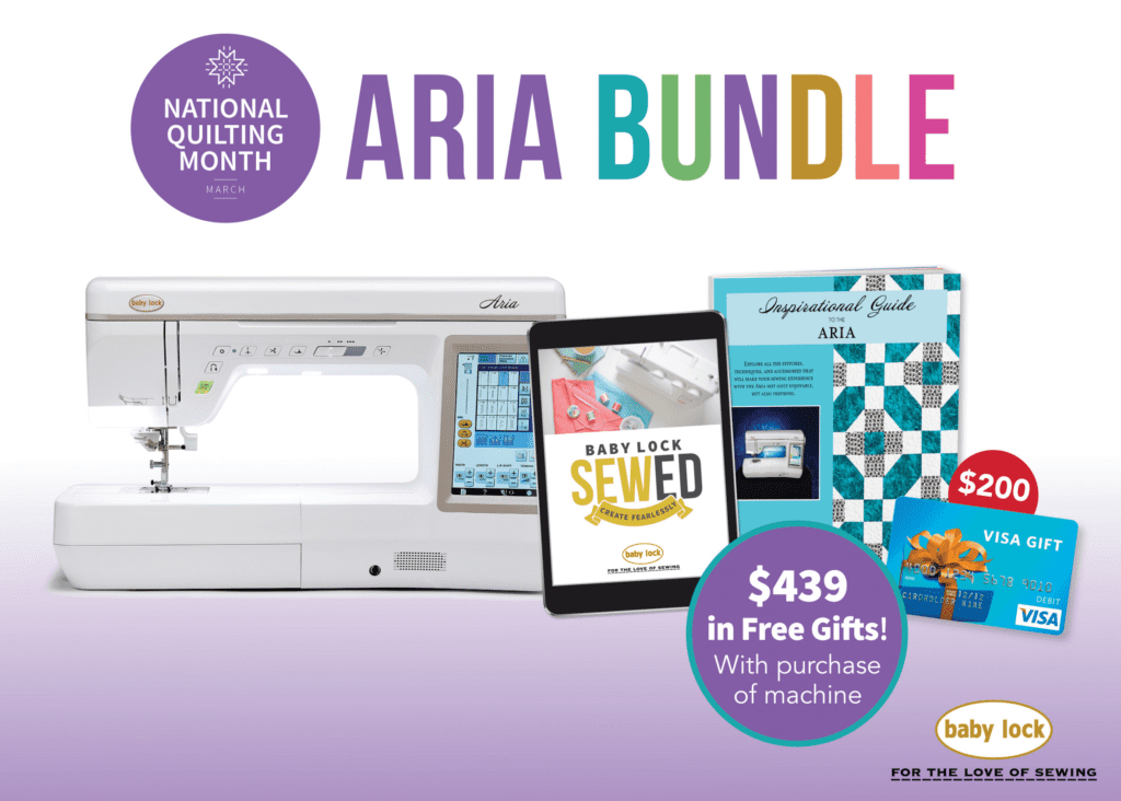 Aria Bundle from Baby Lock